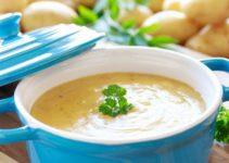 Pfaelzer Kartoffelsuppe