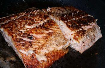 Fleisch und Fisch Rezept