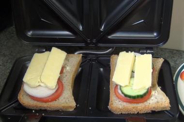 Sandwichmaker Zutaten