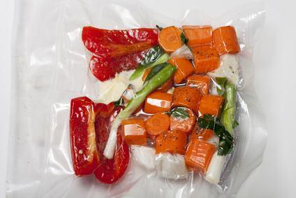 Vakuumierer Gemüse