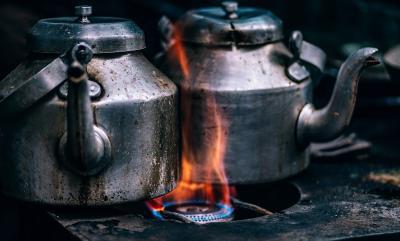 antike wasserkocher wann erfunden