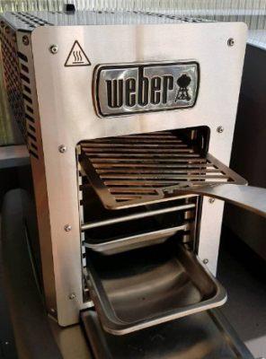 Weber Oberhitze Grill test