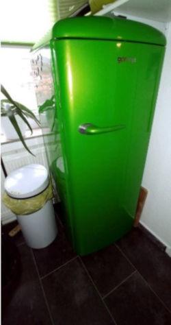 Retro-Kühlschrank Test