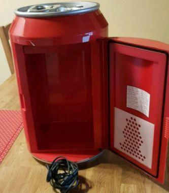 coca cola kühlschrank dose